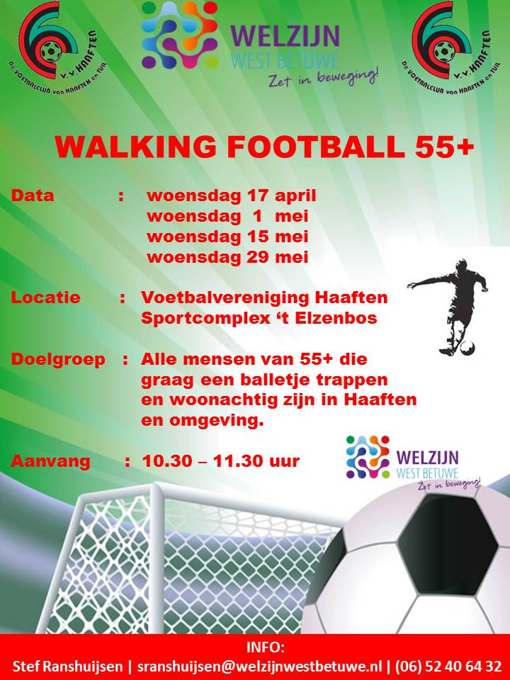 walking football april mei 2019