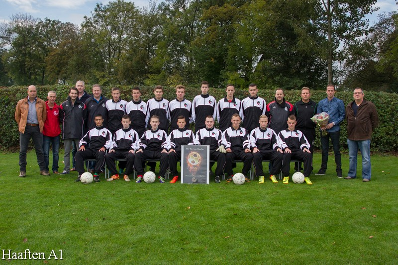 Haaften A1  2014-2015 trainingspak
